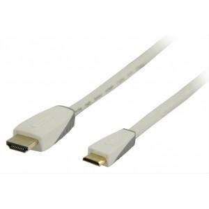 Bandridge Personal Media HDMI mini digitální kabel, 2m, BBM34500W20