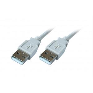 USB 2.0 kabel, A konektor - A konektor, 1,8m, blistr