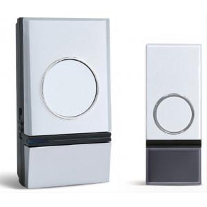 Bezdrátový zvonek, do zásuvky, 200m, bílý, learning code