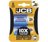 JCB OXI ULTRA alkalická baterie LR20/D, blistr 2 ks