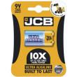 JCB OXI ULTRA alkalická baterie 6LR61/9V, blistr 1 ks