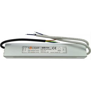 LED napájecí zdroj, 230V - 12V, 5A, 60W, IP67
