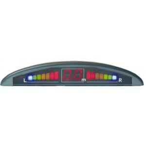 Parkovací systém 4-senzorový s LED displejem