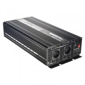 Měnič napětí z 12/230V + USB, 5000W