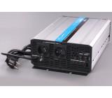 měnič+dobíječka z 12V DC na 230V AC 2000W sinus