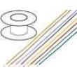 Kabel LiYv licna Cu 0,75mm2 PVC červená 900V 100m