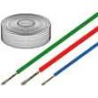Kabel SiF licna Cu 0,75mm2 silikon šedá -60-180°C 500V 100m
