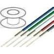 Kabel koaxiální RGB75 1x75Ω licna OFC PVC červená 100m