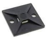 Samolepící příchytka polyamid UL94V-2 černá FH:4mm W:5,4mm