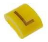 Kabelové značky pro kabely a vodiče 1,1-2,5mm H:3mm A:6mm