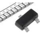 BAS21-DIO Dioda spínací SMD 250V 200mA 250mW SOT23 Balení páska