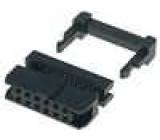 Zástrčka IDC zásuvka PIN:12 se zajištěním kabelu IDC 1mm