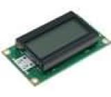 LCD display alfanumerický FSTN Positive 8x2   LED