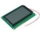 Zobrazovač LCD grafický FSTN Positive 128x64 LED 2PIN0