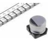 Kondenzátor elektrolytický SMD 150uF 16V Ø6,3x7,7mm ±20%