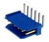 Zásuvka kabel-pl.spoj DUBOX vidlice PIN:6 úhlové 90° THT 1x6