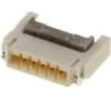 Konektor FFC / FPC vodorovné SMT 5 PIN 0,5mm 0,5A