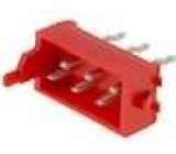 Konektor Micro-MaTch zásuvka vidlice PIN:6 přímý THT 1,5A
