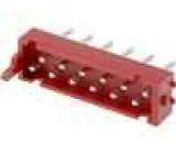 Konektor Micro-MaTch zásuvka vidlice PIN:12 přímý THT 1A 30V