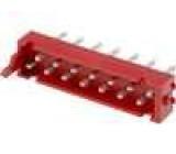 Konektor Micro-MaTch zásuvka vidlice 14PIN přímý THT 1A 30V