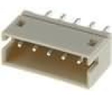 Zásuvka kabel-pl.spoj vidlice 5 PIN 1,5mm THT 100V 1A 20mΩ