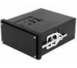 Kryt do panelu X:96mm Y:48mm Z:109,5mm černá Řada Uninorm