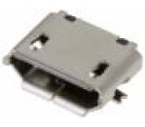 Zásuvka USB B micro SMT 5 PIN V USB 2.0 zlacený