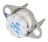 Čidlo termostat Konf.výstupu NC Topen:160°C Tclos:130°C 10A