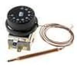 Čidlo termostat s kapilárou Konf.výstupu SPDT 10A 400VAC