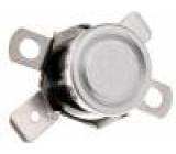 Čidlo termostat Konf.výstupu NC Topen:120°C Tclos:98°C 10A