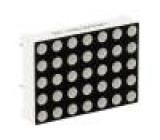 Zobrazovač LED matice 5x7 anoda