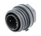 Konektor kulatý zásuvka vidlice PIN:2 EXPlora Kontakty mosaz