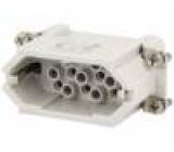 Konektor heavy mate Pouz velikost A10 Řada C146 vidlice 400V