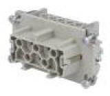 Konektor heavy|mate Pouz velikost E10 Řada C146 zásuvka 660V