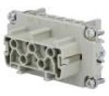 Konektor heavy|mate Pouz velikost E10 Řada C146 zásuvka 500V