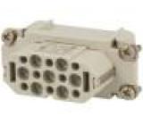 Konektor heavy|mate Pouz velikost A10 Řada C146 zásuvka 400V