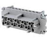 Konektor heavy|mate Pouz velikost E16 Řada C146 zásuvka 400V