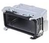 Kryt pro konektory heavy|mate Pouz velikost E16 hliník IP65