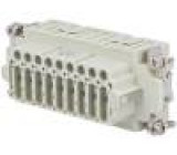 Konektor hranatý zásuvka CDS PIN:27 27+PE velikost 77.27 10A