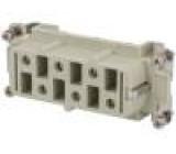 Konektor hranatý zásuvka CP PIN:6 velikost 77.27 35A