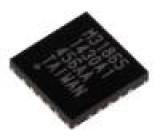 MAX31865ATP+ Resistance-to-digital TQFN20 Montáž SMD 3,3VDC Rozhraní SPI