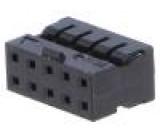 Zástrčka kabel-pl.spoj zásuvka 10 PIN2mm na kabel