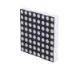 LED matice Display 8x8 červená 6-12mcd katoda 60,2x60,2mm