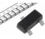 2N7002-T1-E3 Tranzistor: N-MOSFET 60V 0,115A 0,2W SOT23