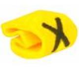 Kabelové značky pro kabely a vodiče Symbol štítku: X 1÷3mm