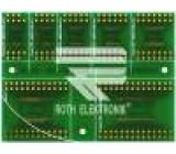 Plošný spoj univerzální multiadaptér W:61,4mm L:81,7mm