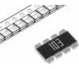 Rezistorová síť: Y 10kΩ SMD 1220 Poč.rezistorů:4 ±5%