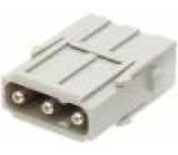 Konektor HAN modul vidlice Han Modular 40A 3 PIN 40A 690V