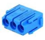 Konektor pneumatický modul vidlice-zásuvka bez kontaktů 8bar