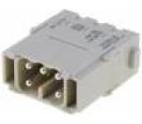 Konektor hranatý modul vidlice Han Modular ES 5 PIN 16A 400V